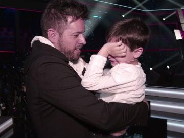 Las entrañables lágrimas de Daniel García al conocer a Pablo López en persona por primera vez