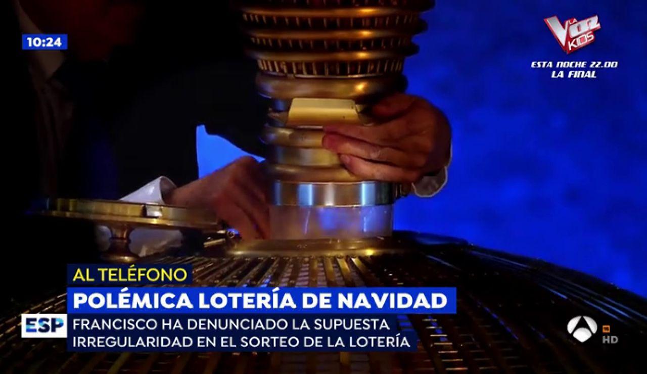 Un hombre denuncia a Loterías y Apuestas del Estado por la polémica de la bola en el sorteo Lotería de Navidad