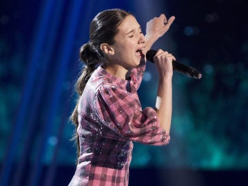 Irene Gil canta 'And I am telling you I'm not going' en la Gran Final de 'La Voz Kids'