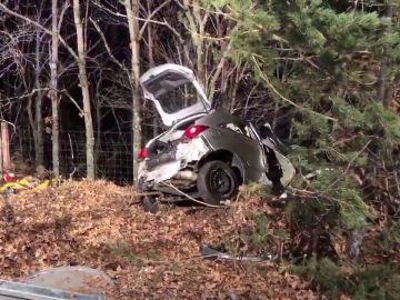 Una mujer muere en un accidente de tráfico en la sierra de Madrid