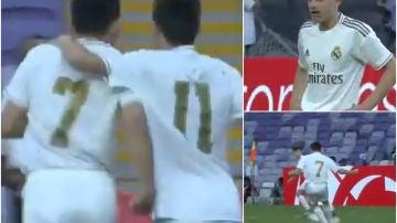 Reyes anota 4 goles en la final de 'LaLiga Promises'