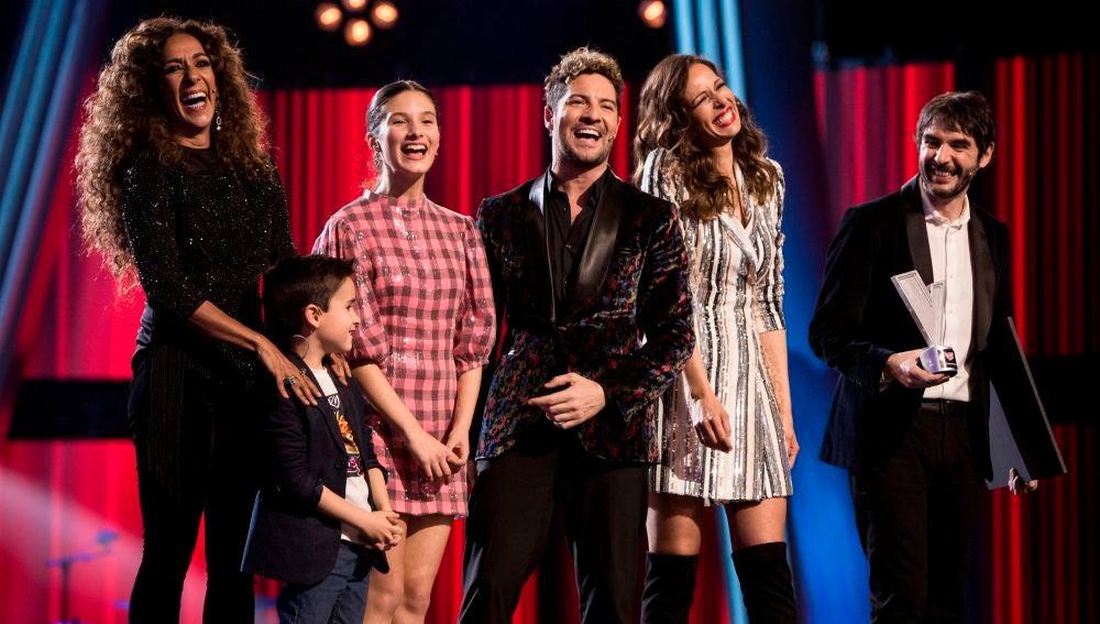 """Artistas como Alejandro Sanz caen rendidos ante la Gran Final de 'La Voz Kids': """"Viva la vida y viva la música"""""""