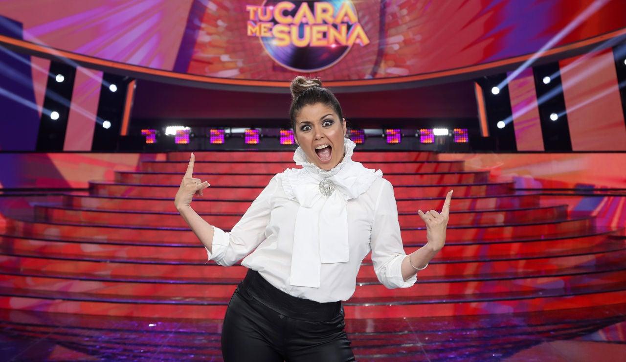 Cristina Ramos, concursante de la octava edición de 'Tu cara me suena'