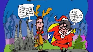 La nueva situación de Carles Puigdemont como eurodiputado, en la viñeta de la semana