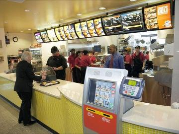 Interior de un McDonald's