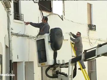 Cinco viviendas afectadas por una fuga de gas en Pozoblanco