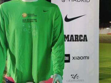 Camiseta de la San Silvestre Vallecana 2029