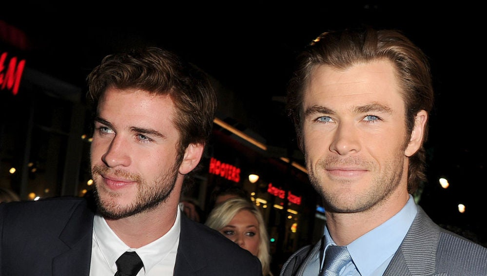 Liam y Chris Hemsworth