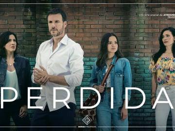 Carteles originales de Perdida, nueva serie original de Atresmedia Televisión
