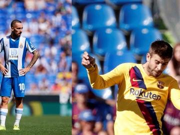 Espanyol y Barça disputan el derbi catalán