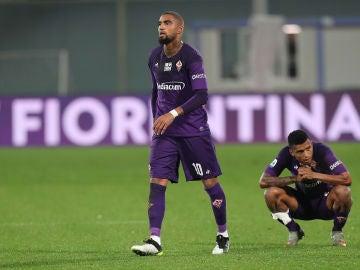 Kevin Prince Boateng, durante un partido con la Fiorentina