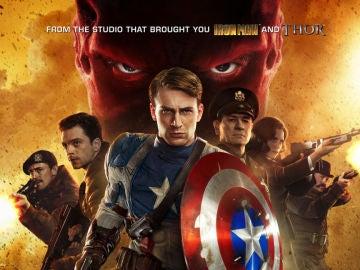 Póster de 'Capitán América: El primer Vengador'
