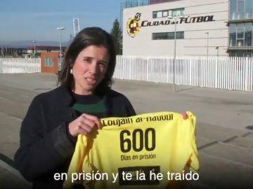 Amnistía Internacional pide a Rubiales que defienda a Loujain, una activista que está en la cárcel en Arabia Saudí