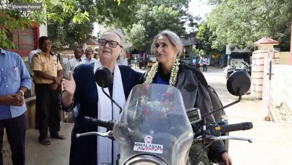 """Marta Insausti, de tener cáncer a dar la vuelta al mundo en moto: """"La vida nos da otra oportunidad"""""""