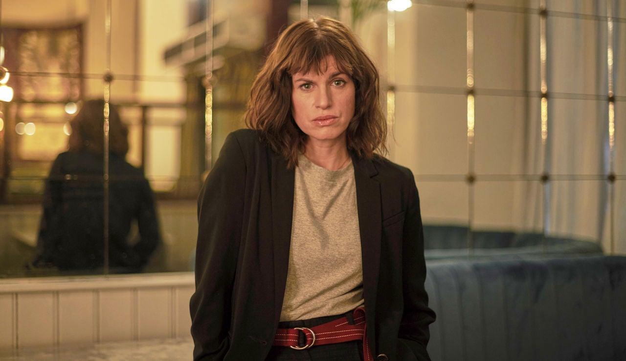 Jemima Rooper es Della Day en 'El cazafortunas'