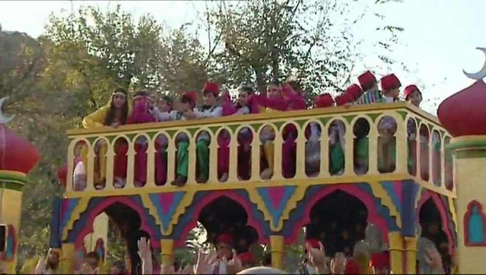 33 carrozas saldrán este año en la cabalgata de Reyes de Sevilla