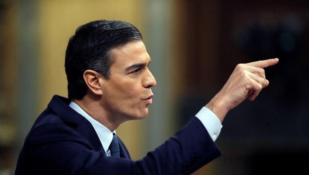 Imagen de Pedro Sánchez en el Congreso