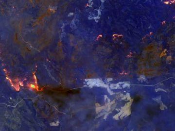 La NASA muestra desde el satélite los más de 150 incendios activos que arrasan en Australia