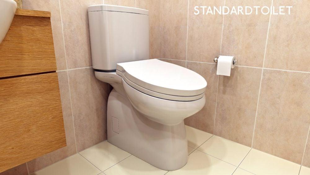 Inventan un inodoro incómodo para que los trabajadores no pierdan el tiempo en el baño