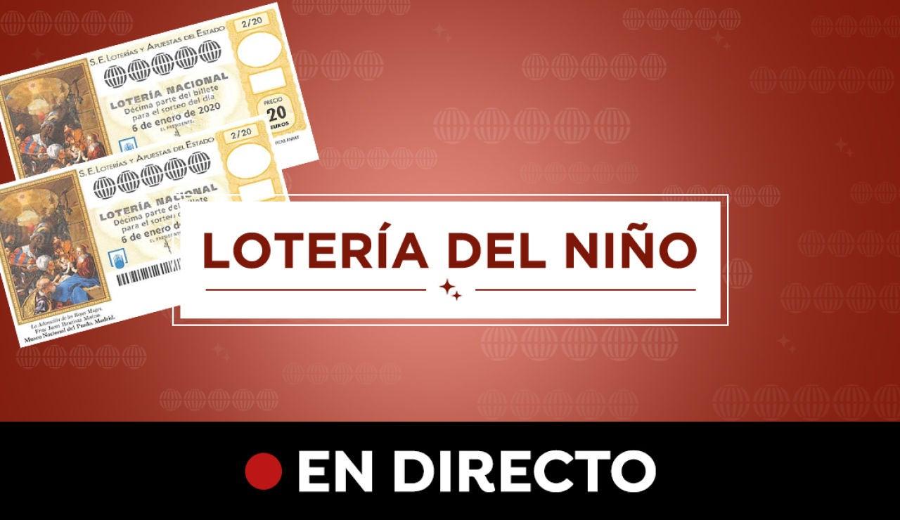 Lotería del Niño 2020: Resultado del sorteo del Niño y premios, en directo