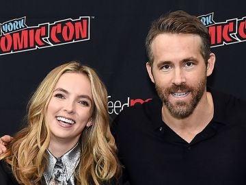 Ryan Reynolds y Jodie Comer, protagonistas de 'Free Guy'