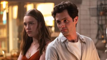 Victoria Pedretti y Penn Badgley son Love y Joe en 'You'