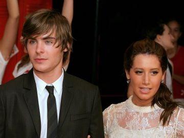 Ashley Tisdale y Zac Efron en 'High School Musical'