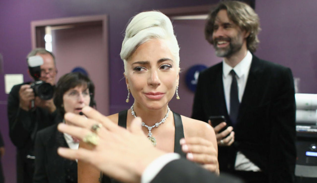 Lady Gaga en la pasada edición de los Oscar