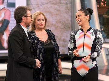 Cristina Pedroche revela en 'El Hormiguero 3.0' nuevos secretos de su vestido en las Campanadas