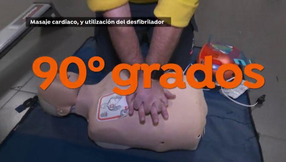 Los 35 segundos que separan la vida de la muerte, cómo salvar la vida a una persona que sufre un paro cardíaco