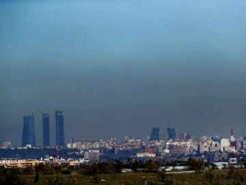 Contaminación atmosférica de Madrid