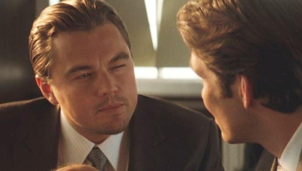 Leonardo DiCaprio en 'Origen'