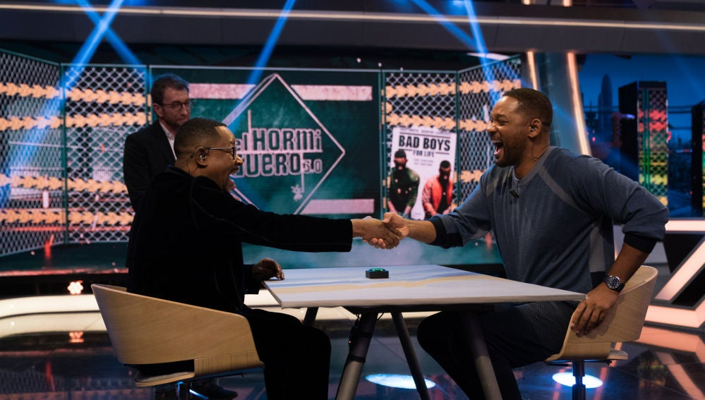 El enfrentamiento definitivo entre Will Smith y Martin Lawrence en el crono mental de 'El Hormiguero 3.0'