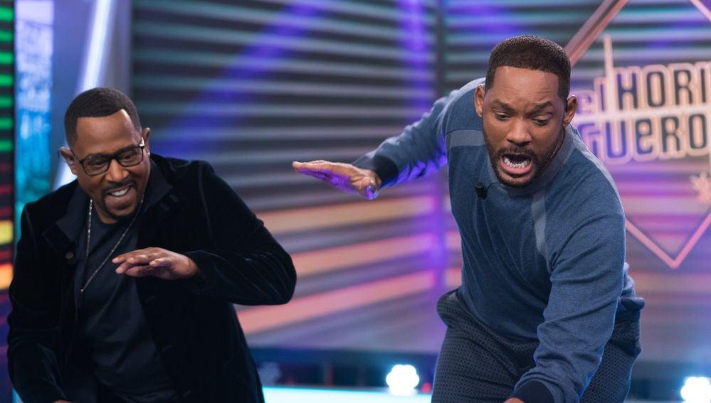 El divertido baile de Will Smith y Martin Lawrence con Pablo Motos en 'El Hormiguero 3.0'