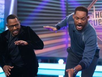 El divertido baile de Will Smith y Martin Lawrence con Pablo Motos en 'El Hormiguero 3.0'