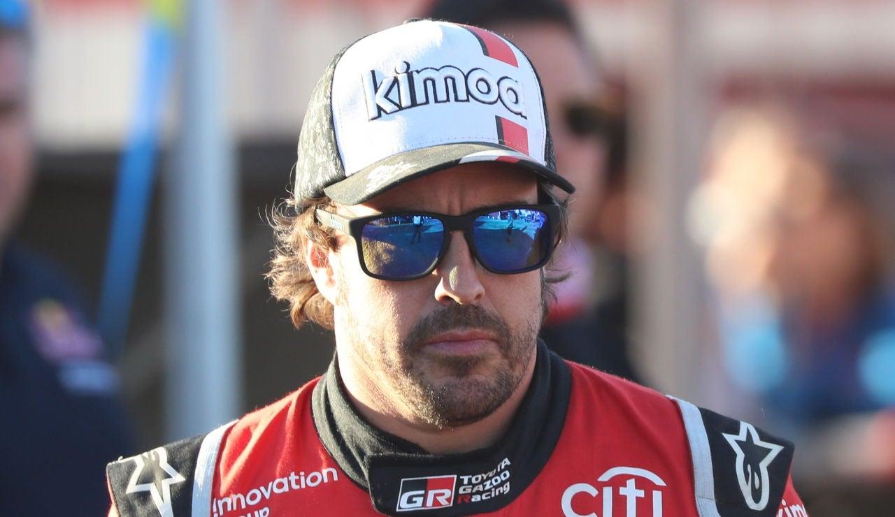 Fernando Alonso, en el Dakar 2020