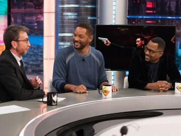 ¿En qué notan Will Smith y Martin Lawrence el paso de la edad? ¡Los actores responden en 'El Hormiguero 3.0'!