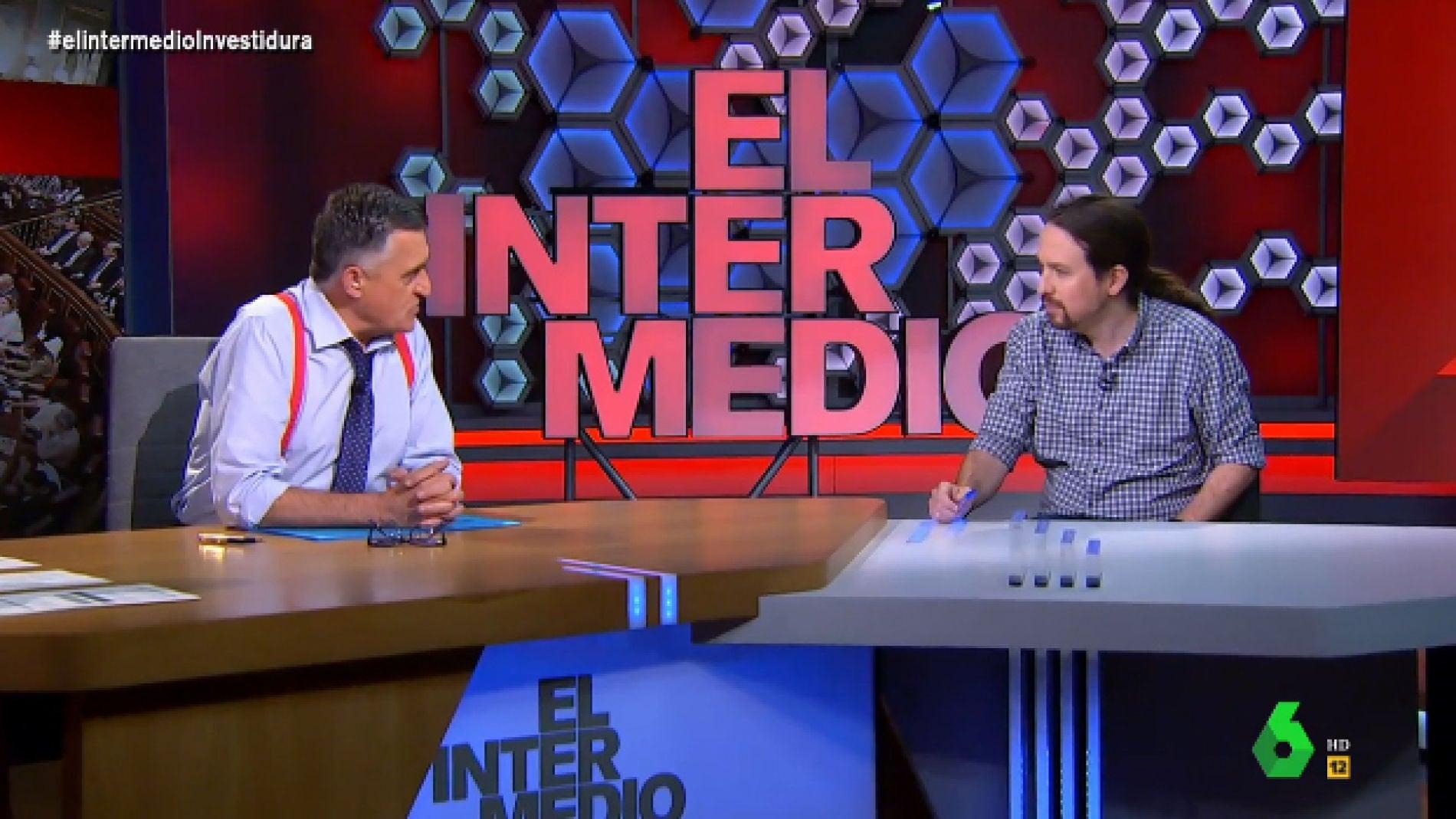 Entrevista a Pablo Iglesias en 'El Intermedio'