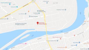 La embajada de Estados Unidos en Bagdad
