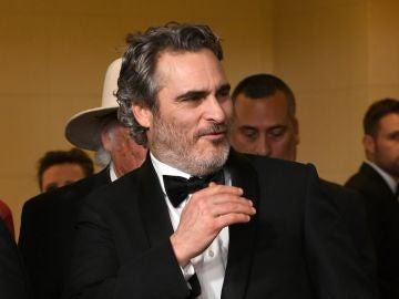Joaquin Phoenix ('Joker') en los Globos de Oro