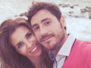 Víctor Sánchez del Amo y su mujer