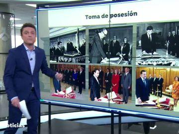 Pedro Sánchez promete solo ante la Constitución