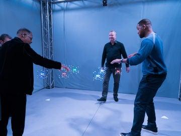 Will Smith y Martin Lawrence juegan con unos mágicos 'Lego voladores' en 'El Hormiguero 3.0'