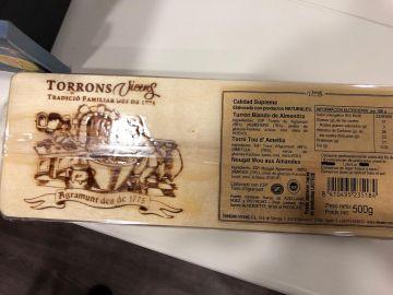Sanidad alerta de la comercialización de turrón blando de almendra que contiene leche no declarada en el etiquetado