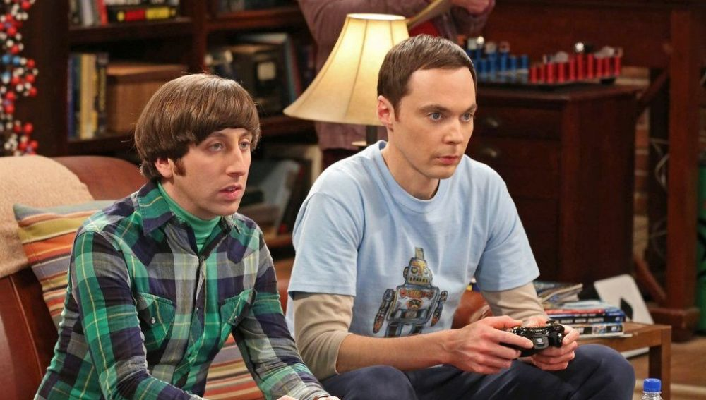 Howard y Sheldon en 'The Big Bang Theory'