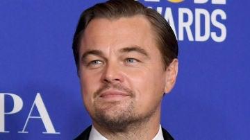 Leonardo DiCaprio en los Globos de Oro