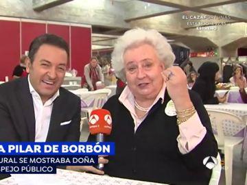 Los mejores momentos de Pilar de Borbón.