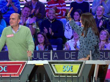 El consejo NBA de Jorge Fernández a Silvia en 'La ruleta de la suerte'