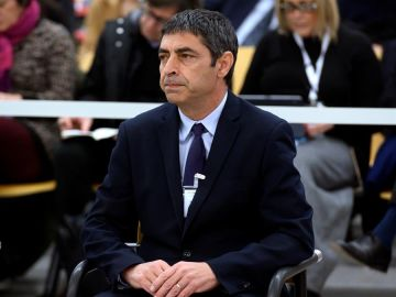 """Josep Lluís Trapero, al comienzo del juicio por la actuación de los Mossos en el """"procés"""""""