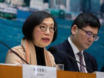 Rueda de prensa de las autoridades médicas sobre el brote de virus en China.